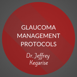 Glaucoma Management Protocols