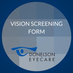 Vision Screening Form