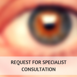 Request for Specialist Consultation