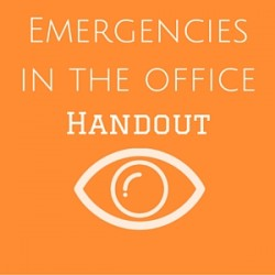 Emergencies in the Office Handout