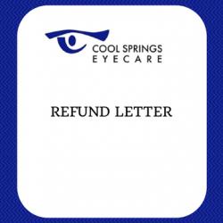 Refund Letter