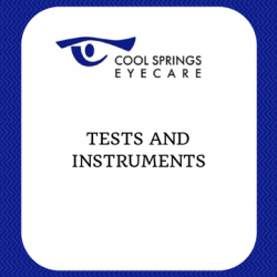 Tests and Instruments