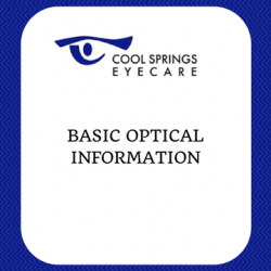 Basic Optical Information