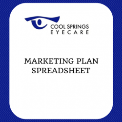 Marketing Plan Spreadsheet