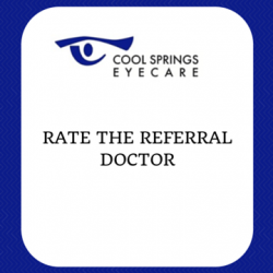Rate the Referral Doctor