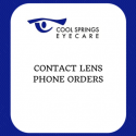 Contact Lens Phone Order Slip