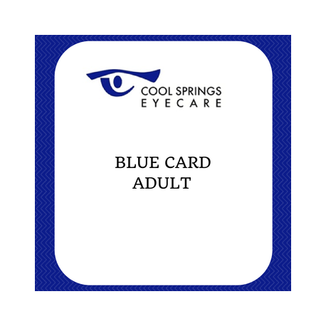 Blue Card Adult
