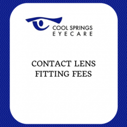 Contact Lens Fitting Fees