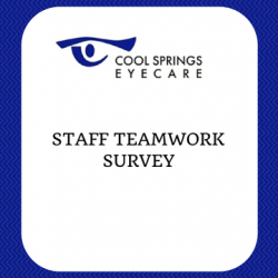 Staff Teamwork Survey