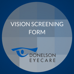 Vision Screening Form