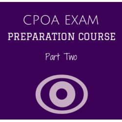 CPOA Preparation Course Part Two