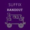 Suffix Handout